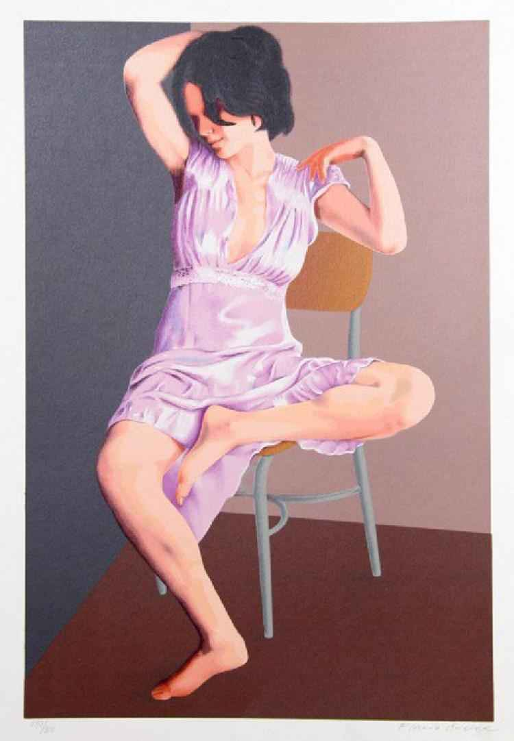 Seated Woman by  Flavio Cabral - Masterpiece Online