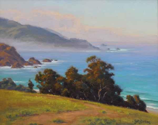 Big Sur Serenity by  Sally  Jordan - Masterpiece Online