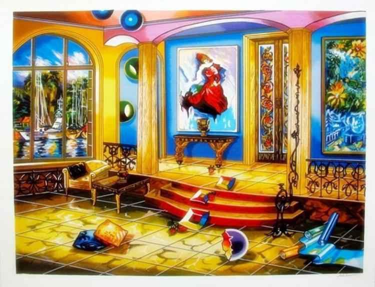 Modern Room by  Alexander Astahov - Masterpiece Online