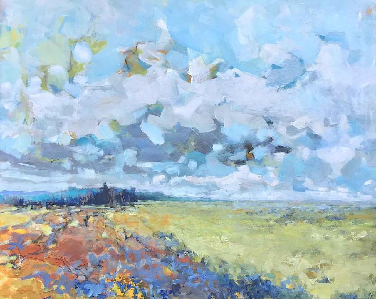 Z SOLD Pastures by  Gabriella Collier - Masterpiece Online