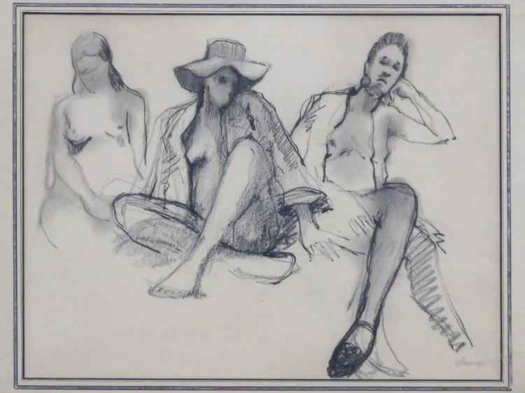 Three Figures by  Arthur Coppedge - Masterpiece Online