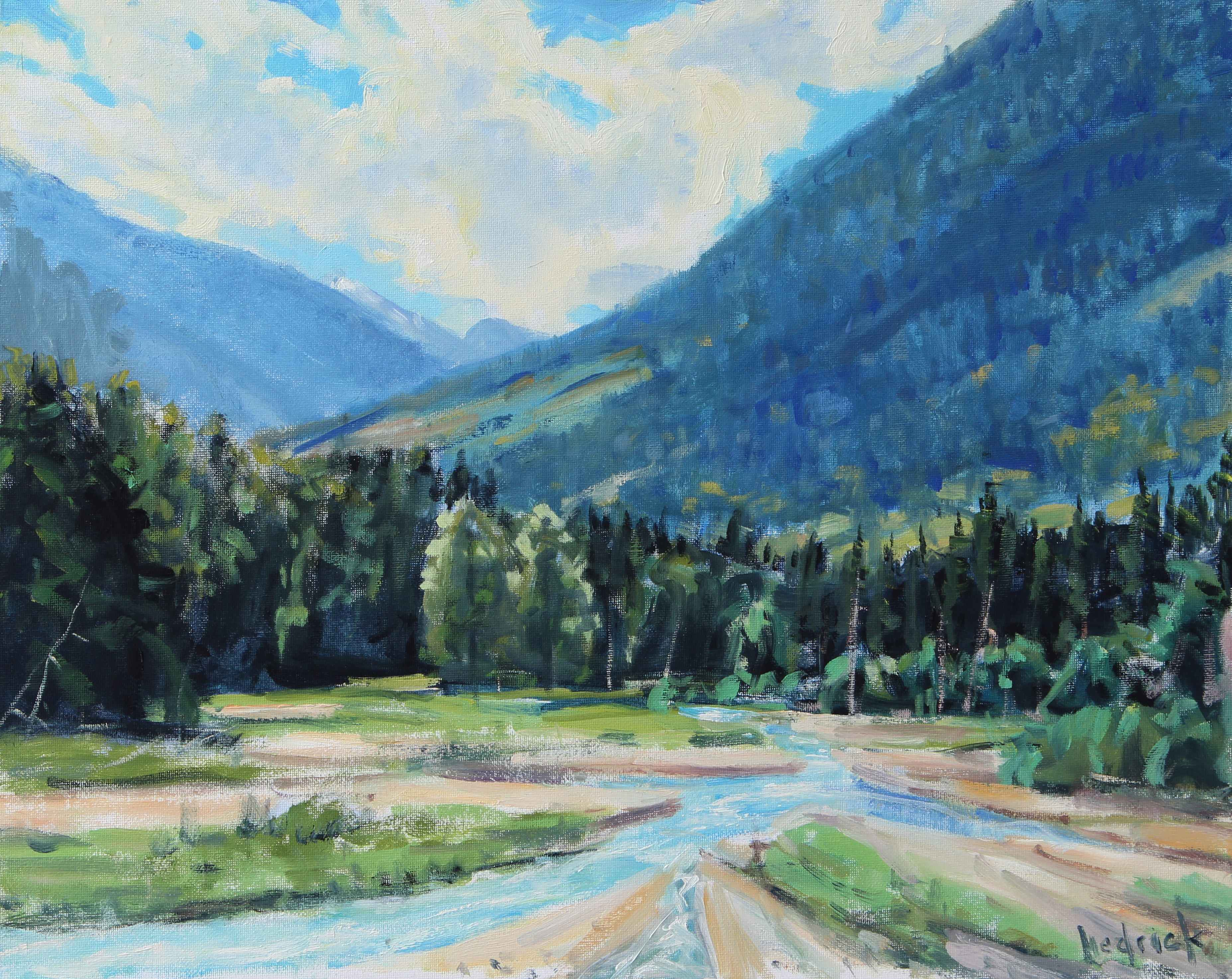 Valley Head Water  by  Ron Hedrick
