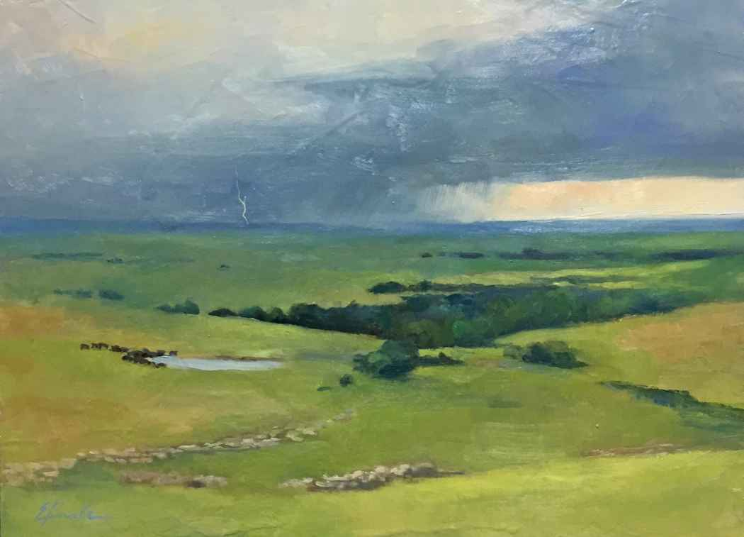 Summertime Storm in t... by  Elaine Haake - Masterpiece Online