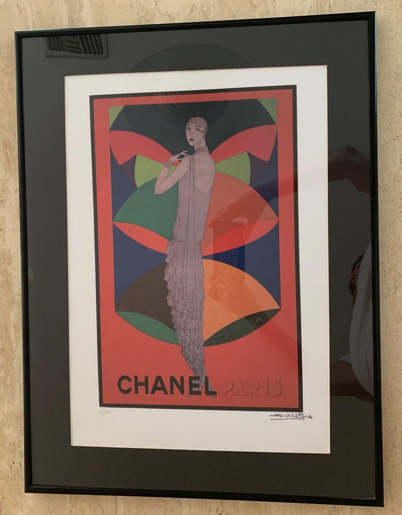 Vintage Chanel Ad by  Fairchild Paris - Masterpiece Online