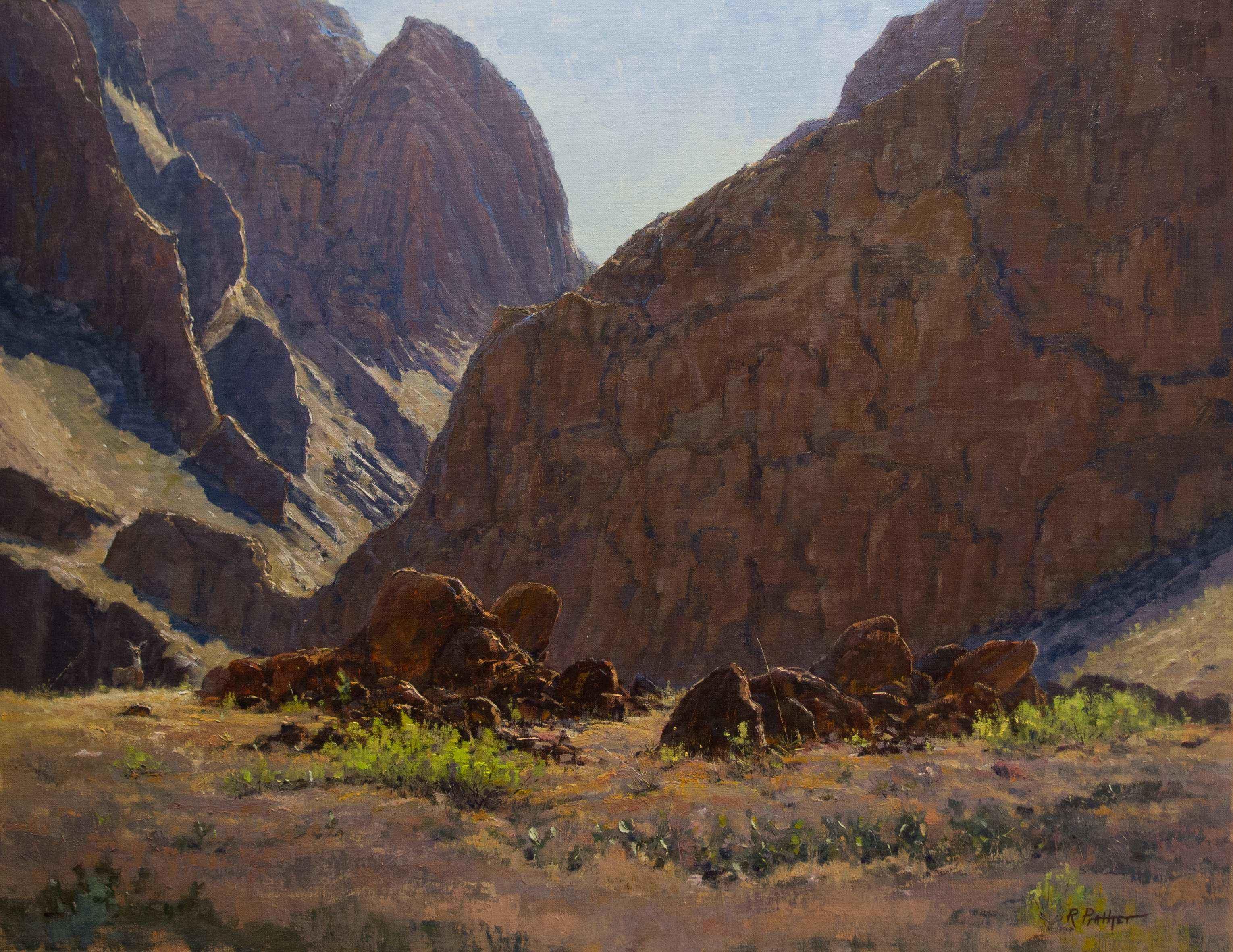 Big Bend Encounter by Mr Richard Prather - Masterpiece Online