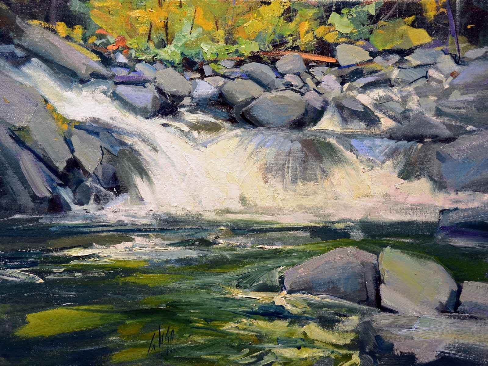 Deception Creek by  Mike Wise - Masterpiece Online