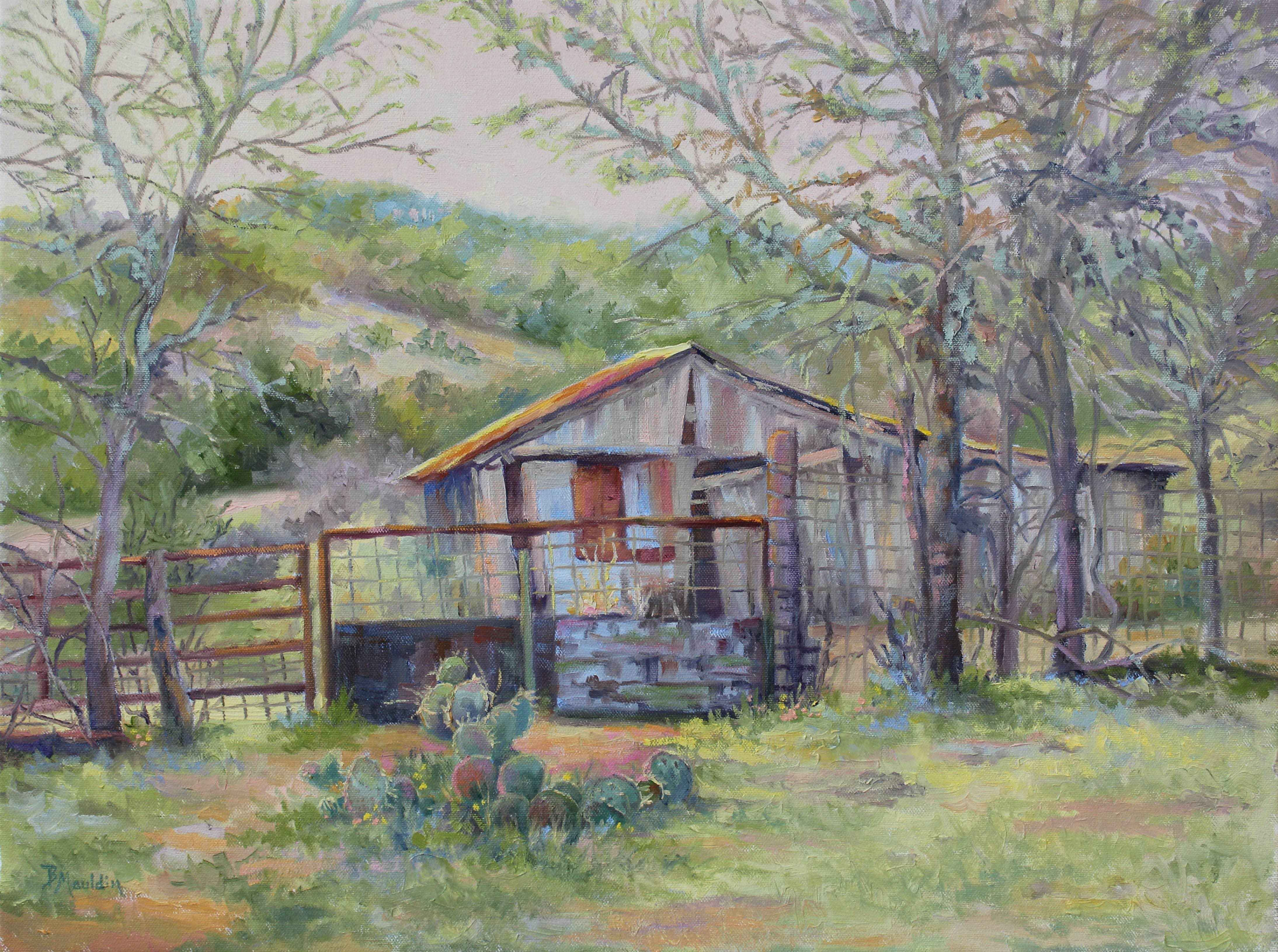 Spring is Around the ... by  Barbara Mauldin - Masterpiece Online