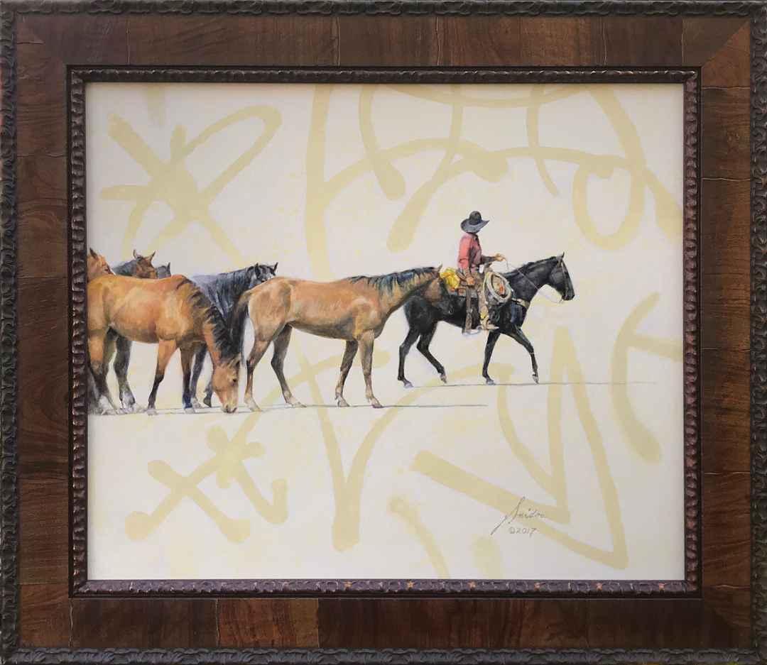 Horse Herd by  Gordon Snidow - Masterpiece Online