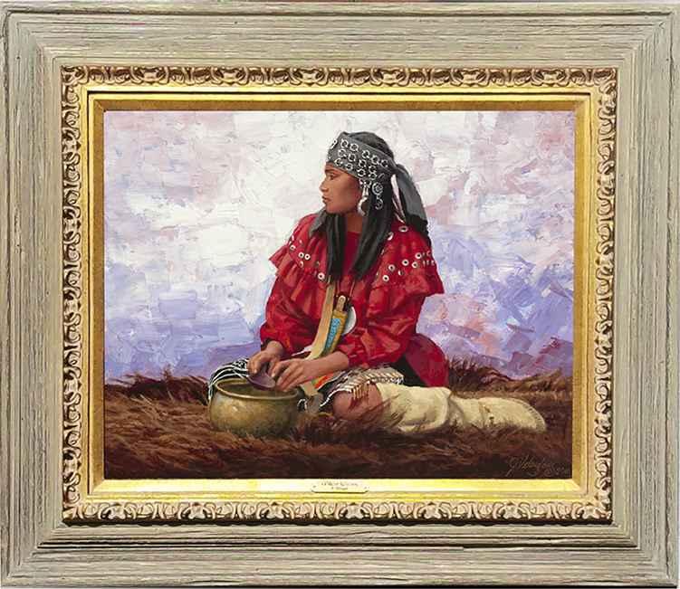 Huron Maiden by  Joseph Velazquez - Masterpiece Online