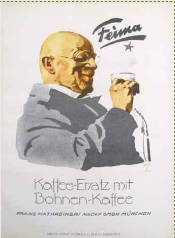 Hohlwein Feima Kaffee... by  Ludwig Hohlwein - Masterpiece Online