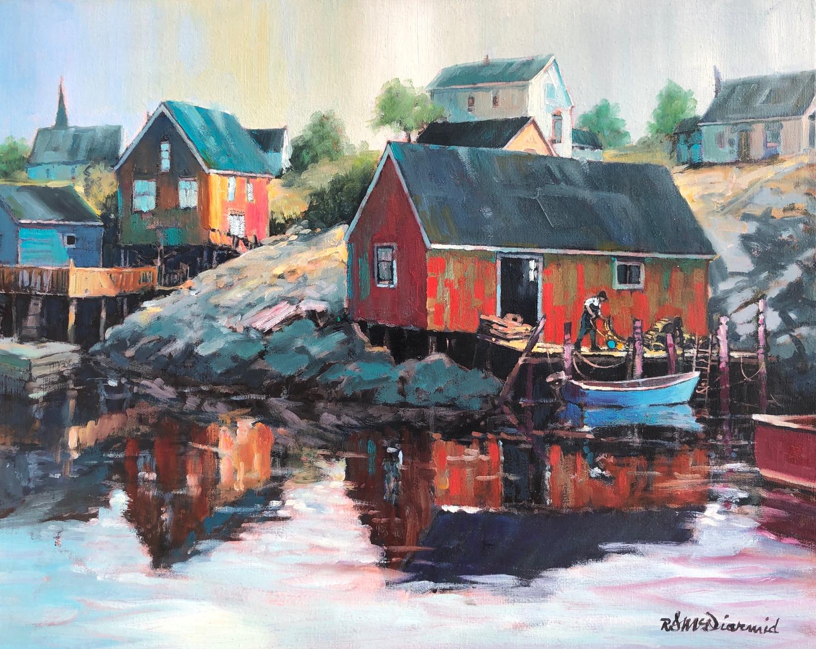 Morning Start by  Rick McDiarmid - Masterpiece Online