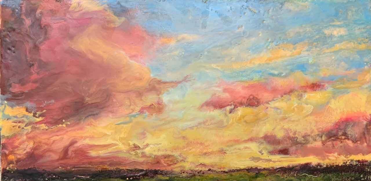 Rosy Glow by  Kathy Bradshaw - Masterpiece Online