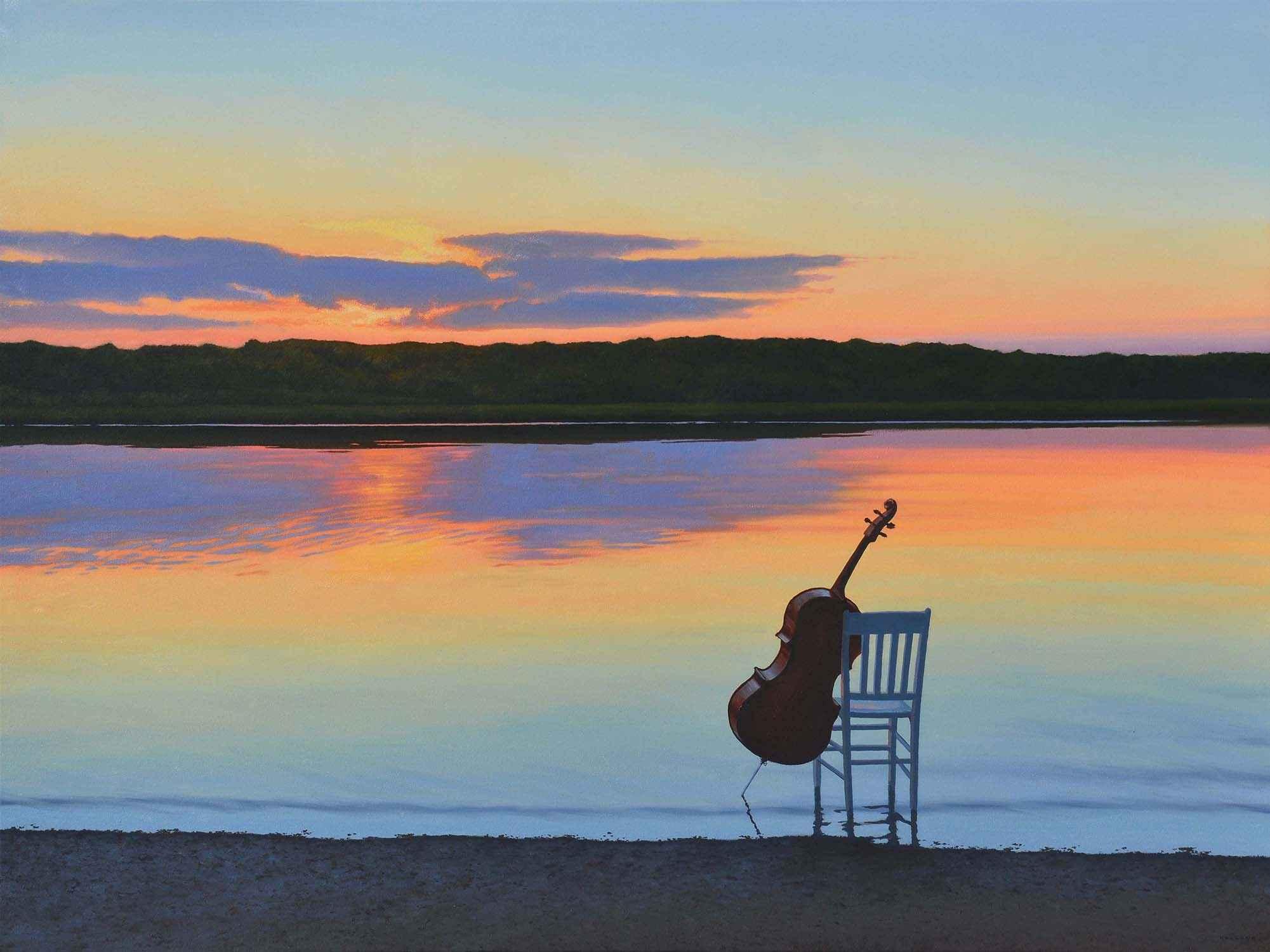 Sunset Sonata by  Jim Holland - Masterpiece Online