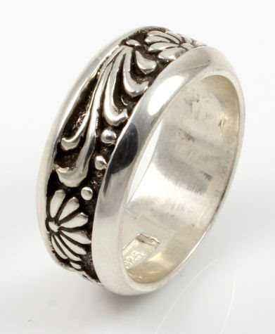All Silver Carved Wid... by  Ray Tracey - Masterpiece Online