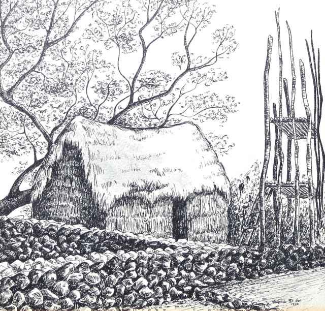 Honaunau Heiau by  Virginia Cox - Masterpiece Online