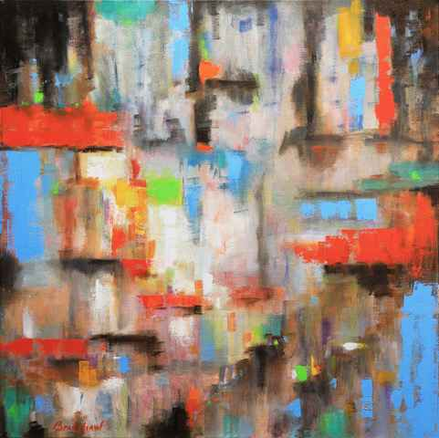 Floating Market by  Bob Bradshaw - Masterpiece Online