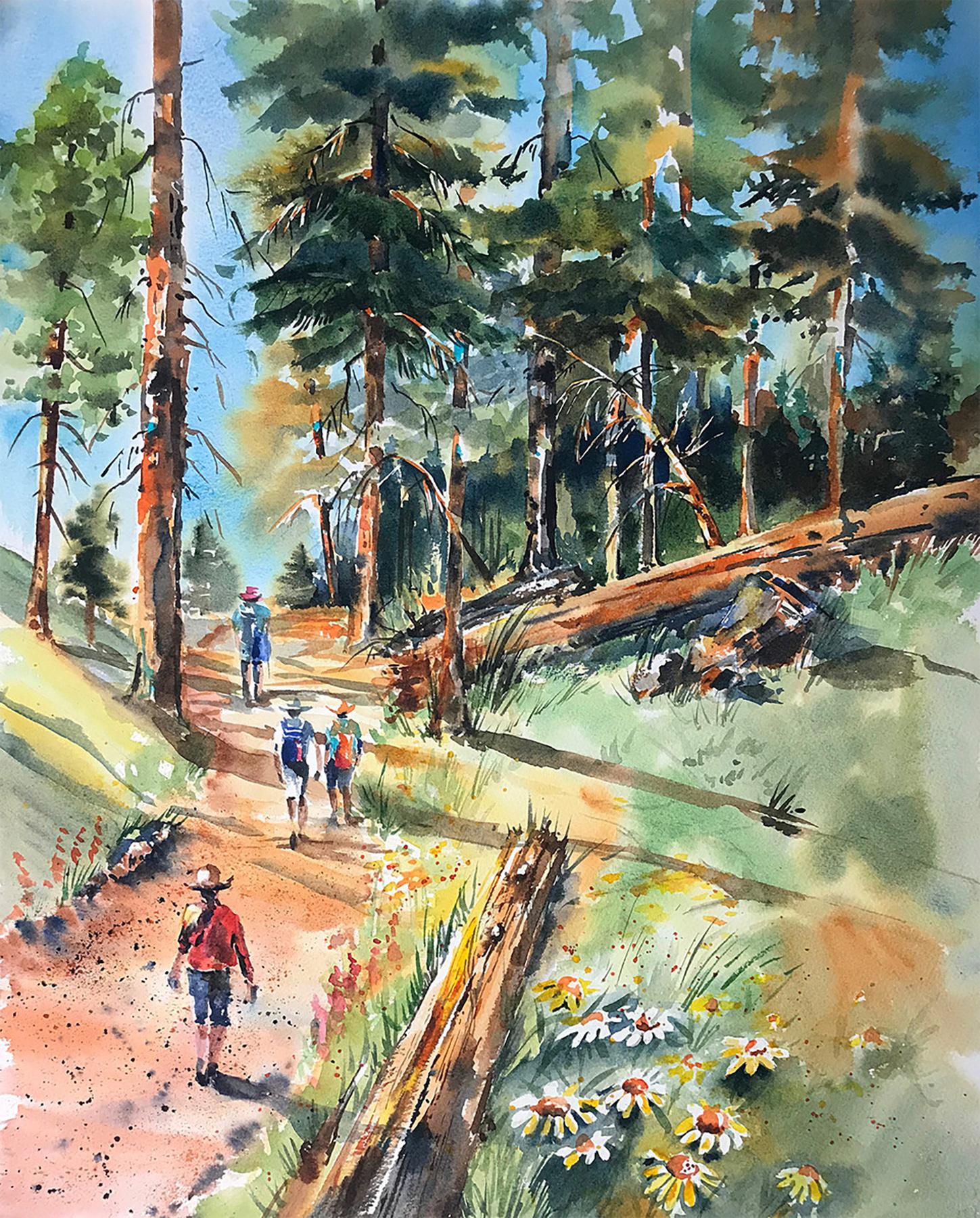 Meadow Trail by  Sandy Walker - Masterpiece Online