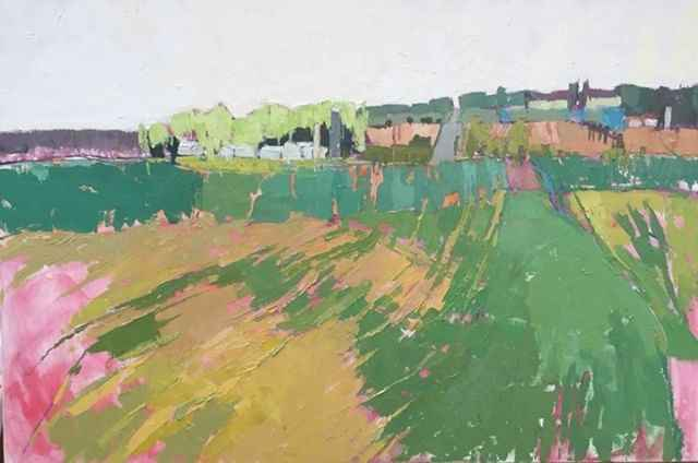 Z Distant Country Road by  Grace Afonso - Masterpiece Online