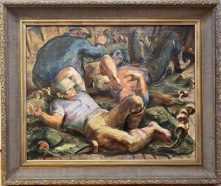 Untitled (3 Fisherman... by Mr. Robert von Neumann - Masterpiece Online