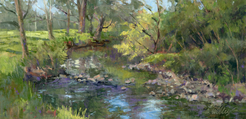Morning West View by  Chris Willey - Masterpiece Online