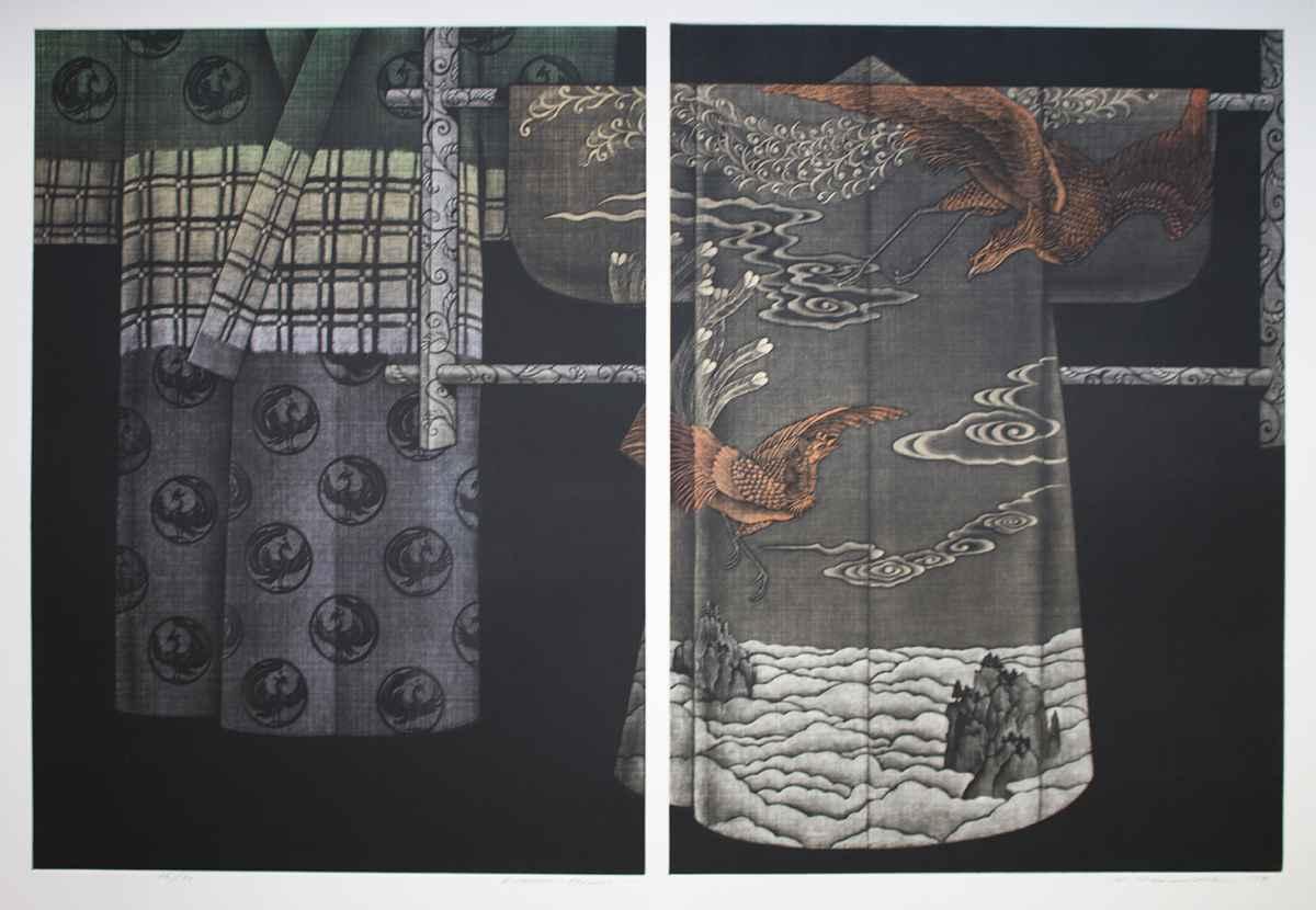 Kimono Phoenix by  Katsunori Hamanishi - Masterpiece Online