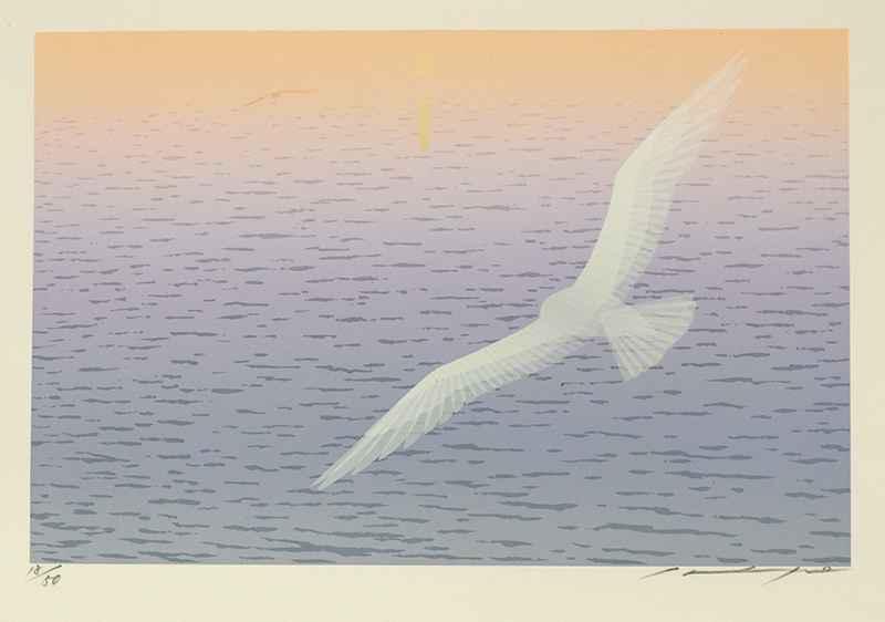 Shining of the Waves by  Shigeyuki Ohashi - Masterpiece Online