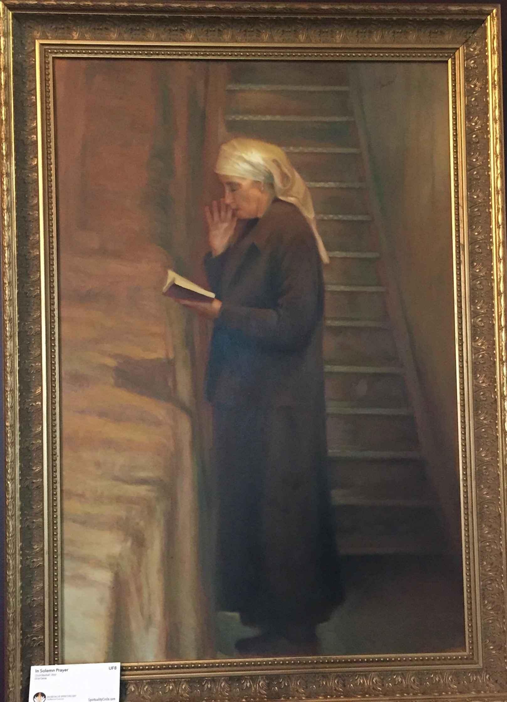 The Solemn Prayer by  Chuck Marshall - Masterpiece Online