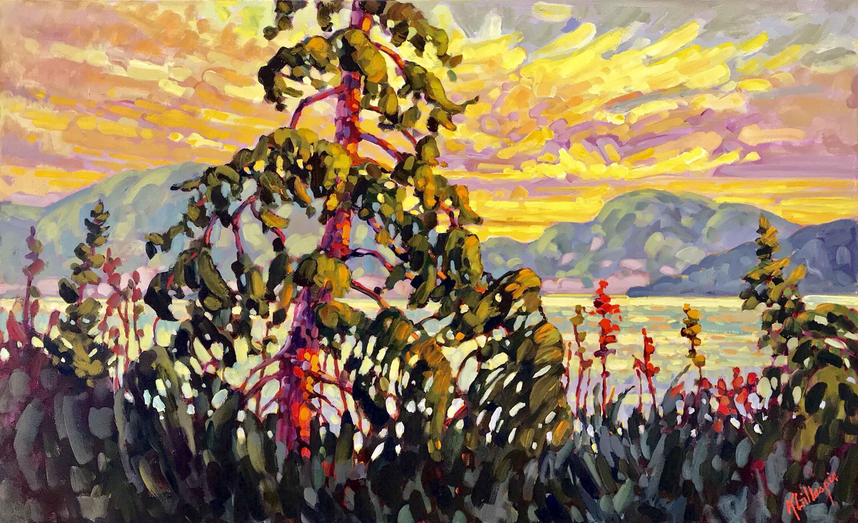 Okanagan Evening Light by  Ken Gillespie - Masterpiece Online