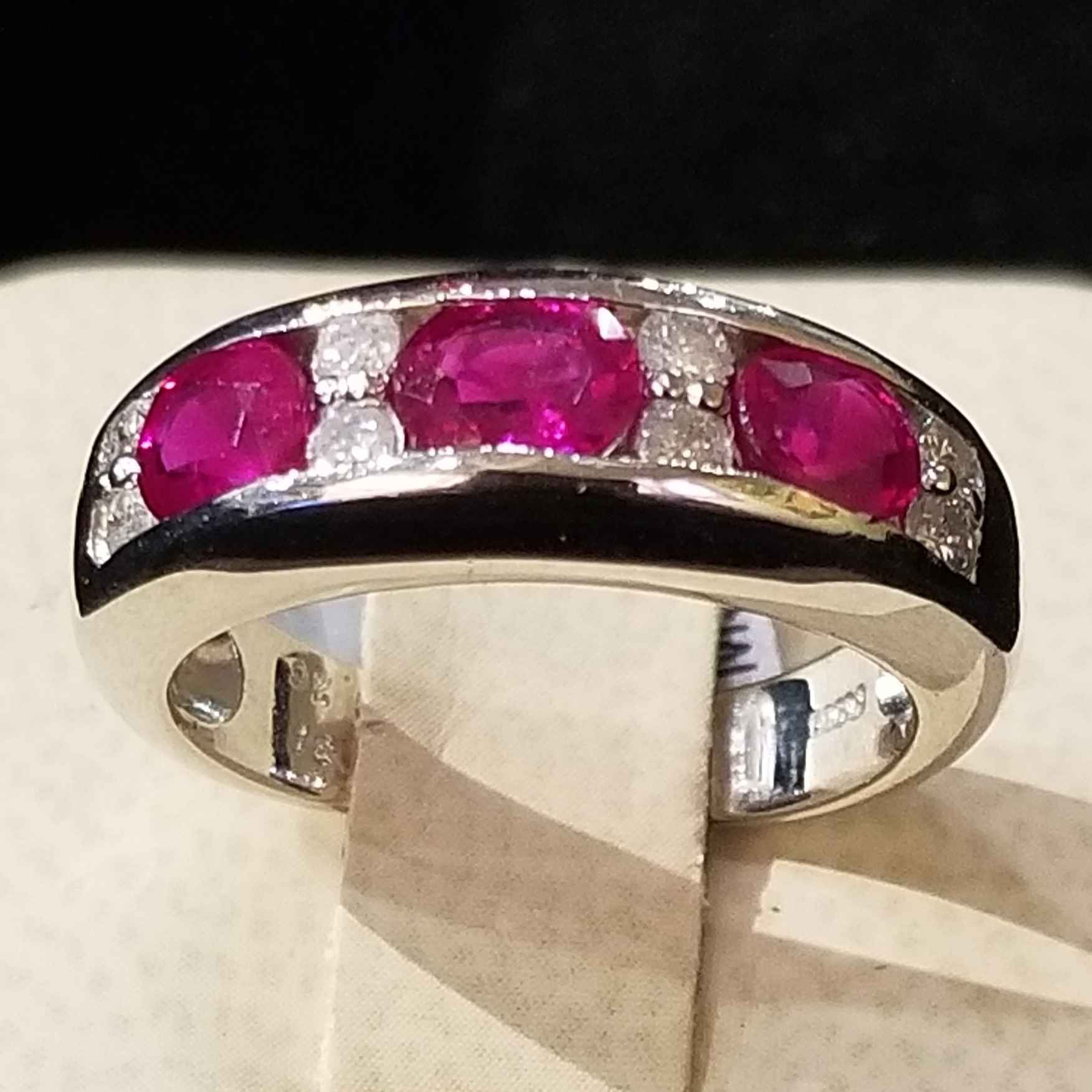 Ruby Ring - Platinum by  My Jeweler - Masterpiece Online