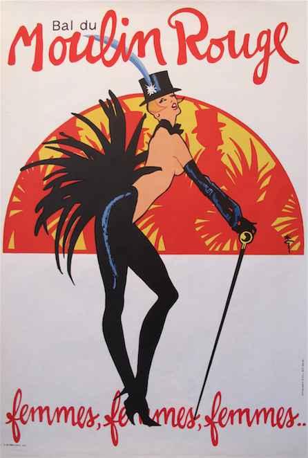 KBE - 1983 Bal du Mou... by  Rene Gruau - Masterpiece Online