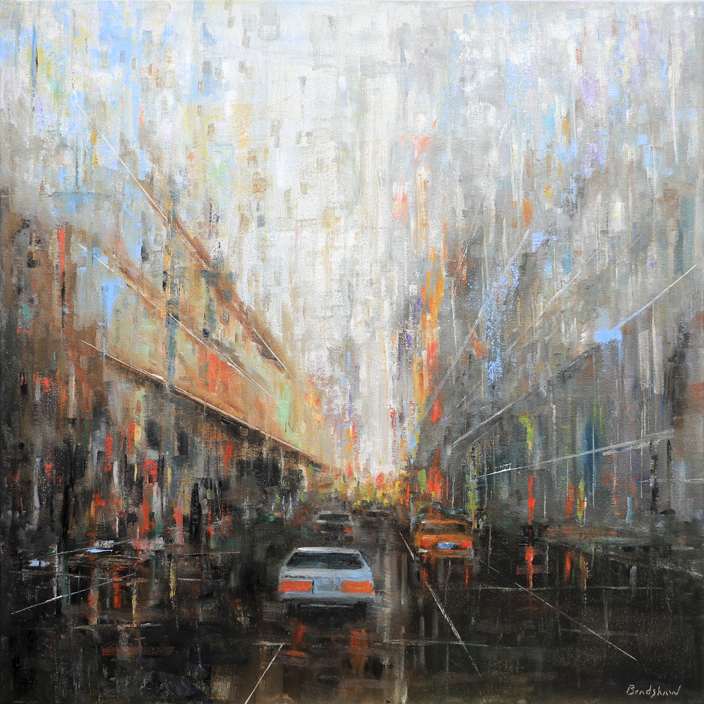 West 25th Street by  Bob Bradshaw - Masterpiece Online