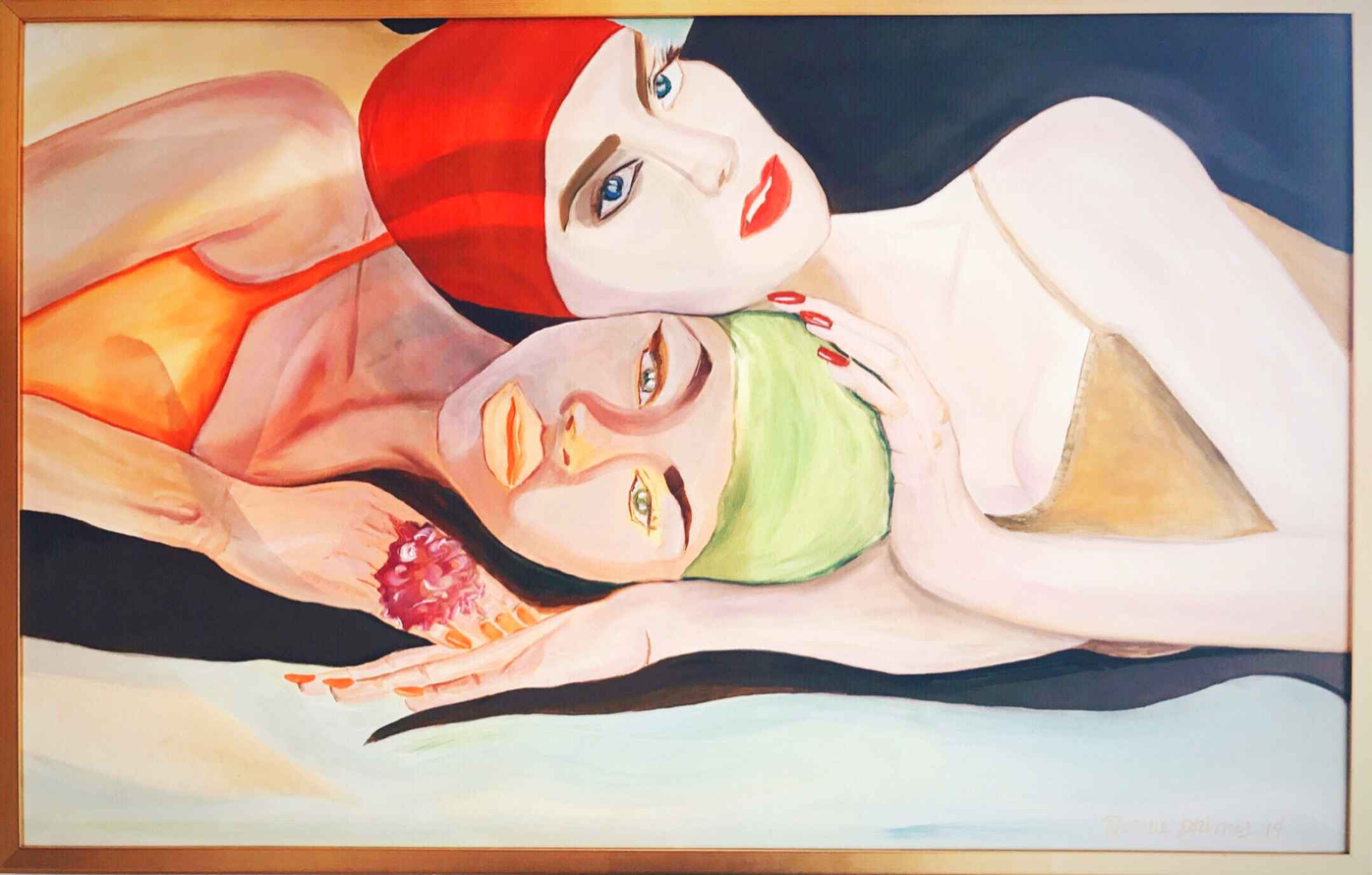 Swimmers by  Nicolle Dhimes - Masterpiece Online