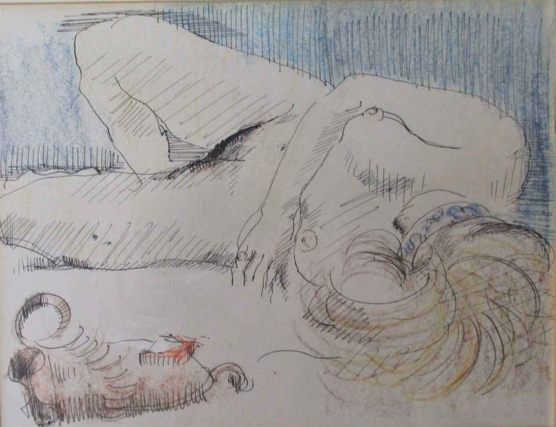 Untitled (nude) by  Sidonie Caron - Masterpiece Online