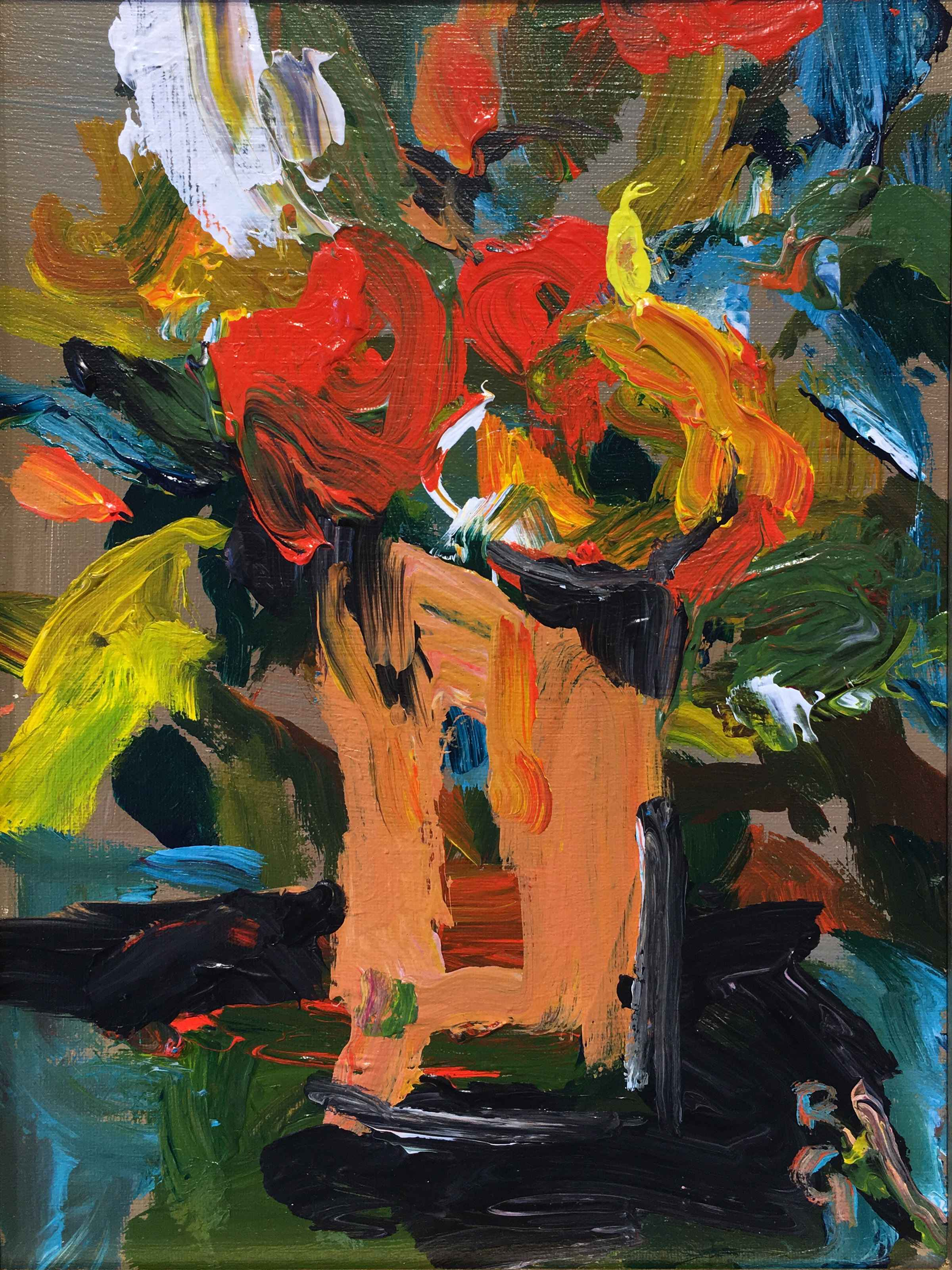 Floral 18 by  Rita Guile - Masterpiece Online