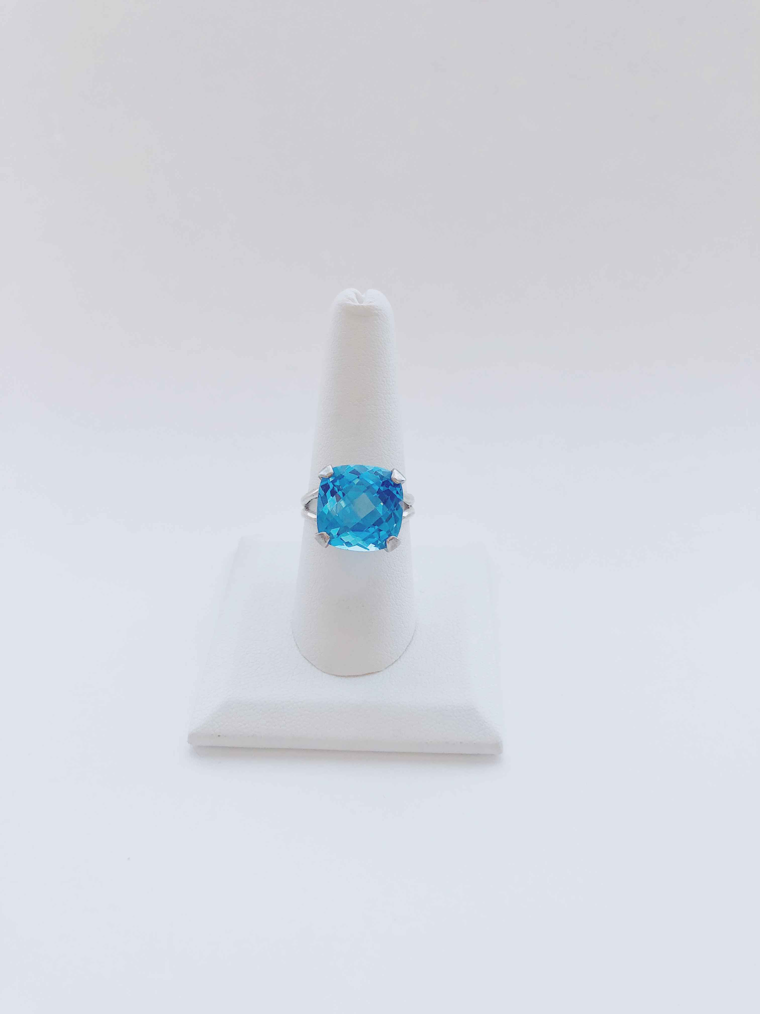 Blue Topaz Ring by  Cathy Miller - Masterpiece Online