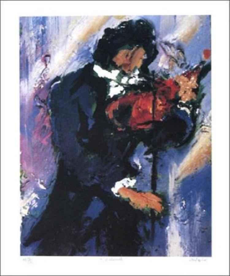 Violinist by  Duaiv  - Masterpiece Online