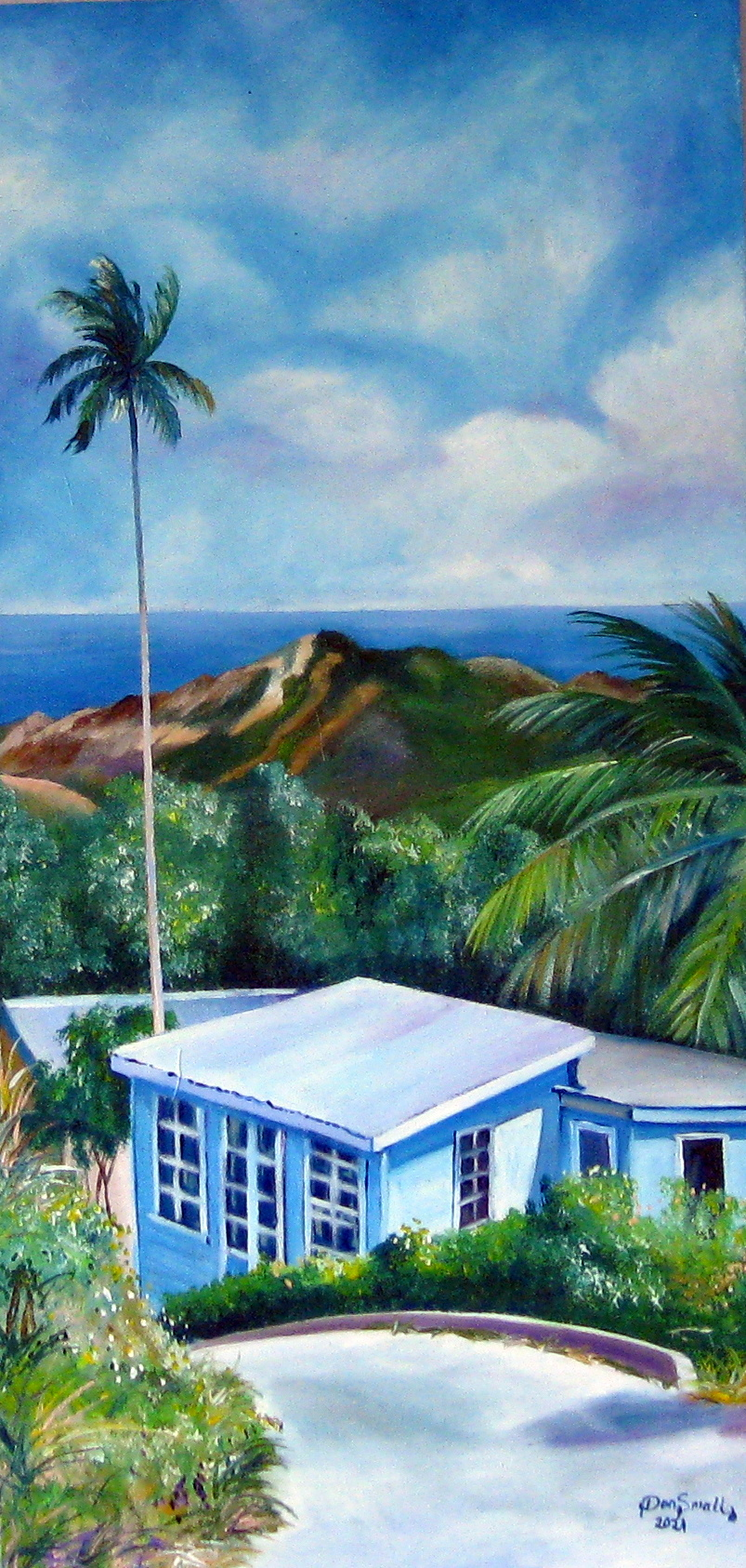 View of Chalky Mount ... by Mr. Don Small - Masterpiece Online
