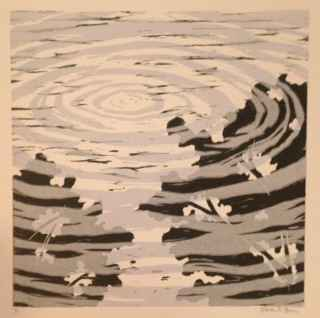 Ripples in the Water V by  Sheila M. Fane - Masterpiece Online