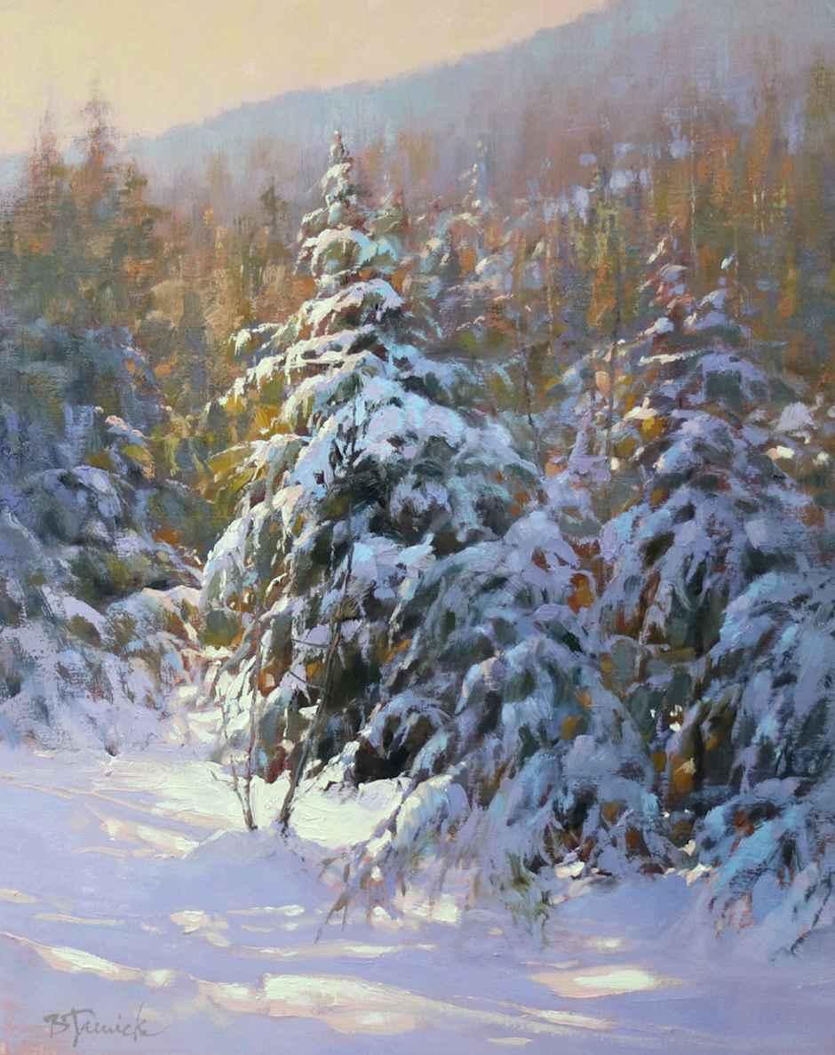 Miles of Winter Pines