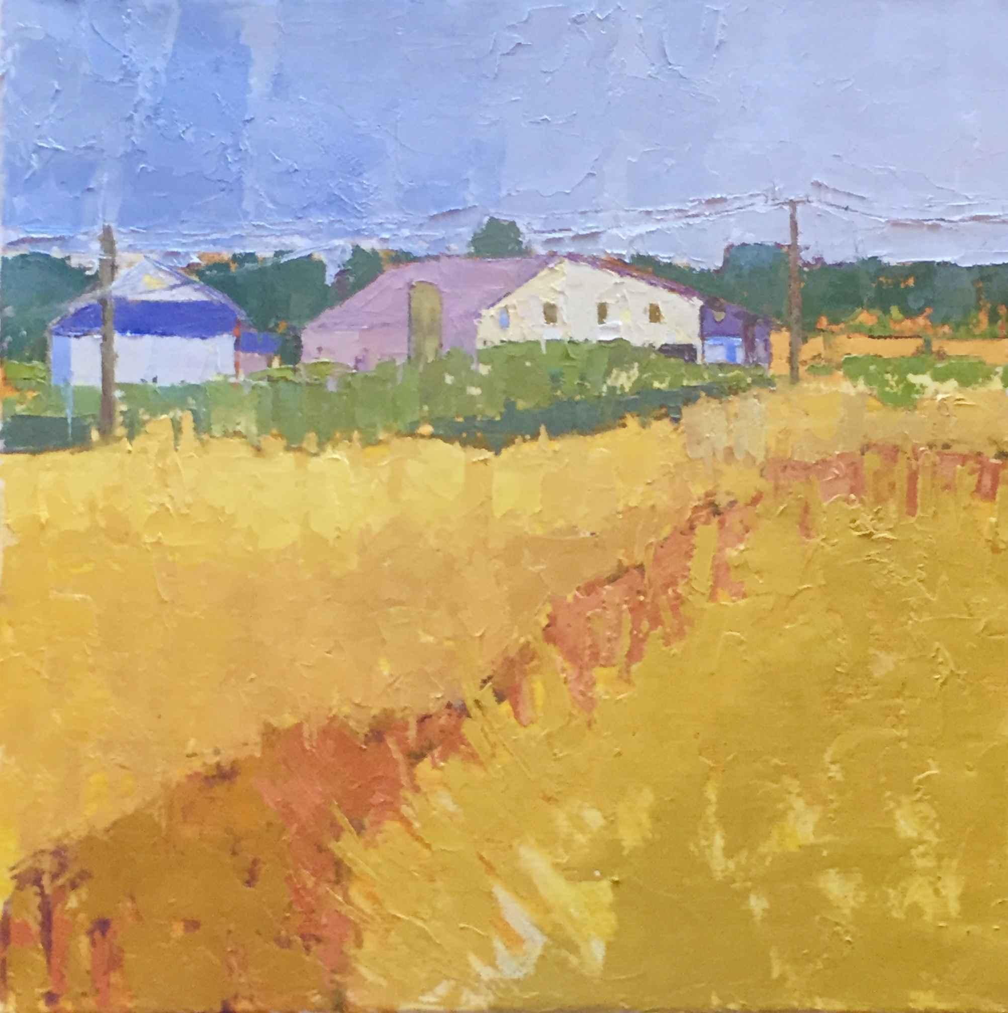 Yellow Fields by  Grace Afonso - Masterpiece Online