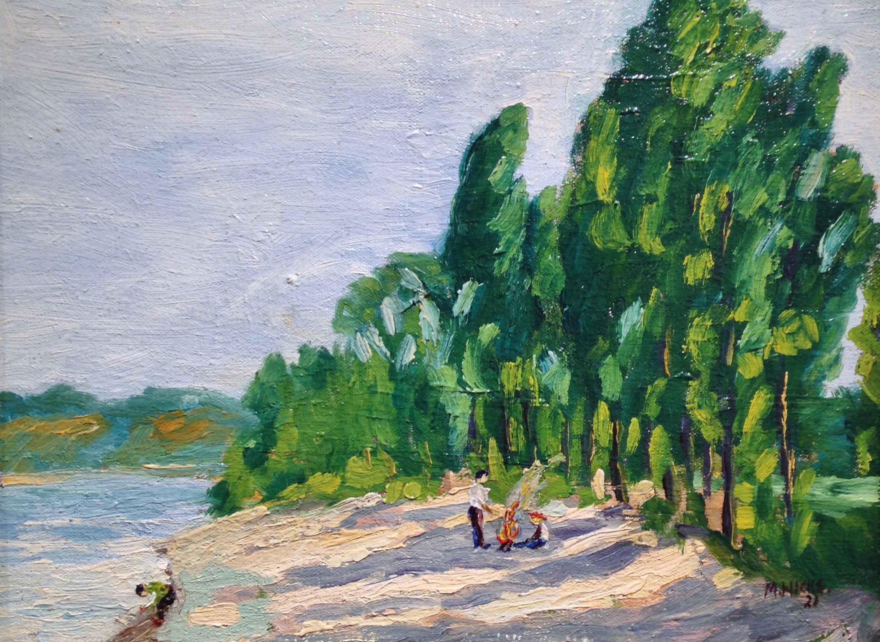 Fox Point, Lake Michi... by Mr. Morley Hicks - Masterpiece Online
