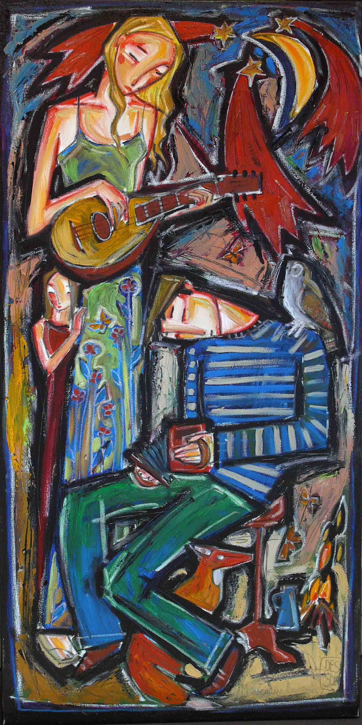 Bohemian Family by  Denis Chiasson - Masterpiece Online