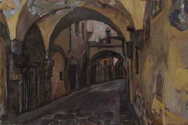 Arches of Firenze by  Daud Akhriev - Masterpiece Online
