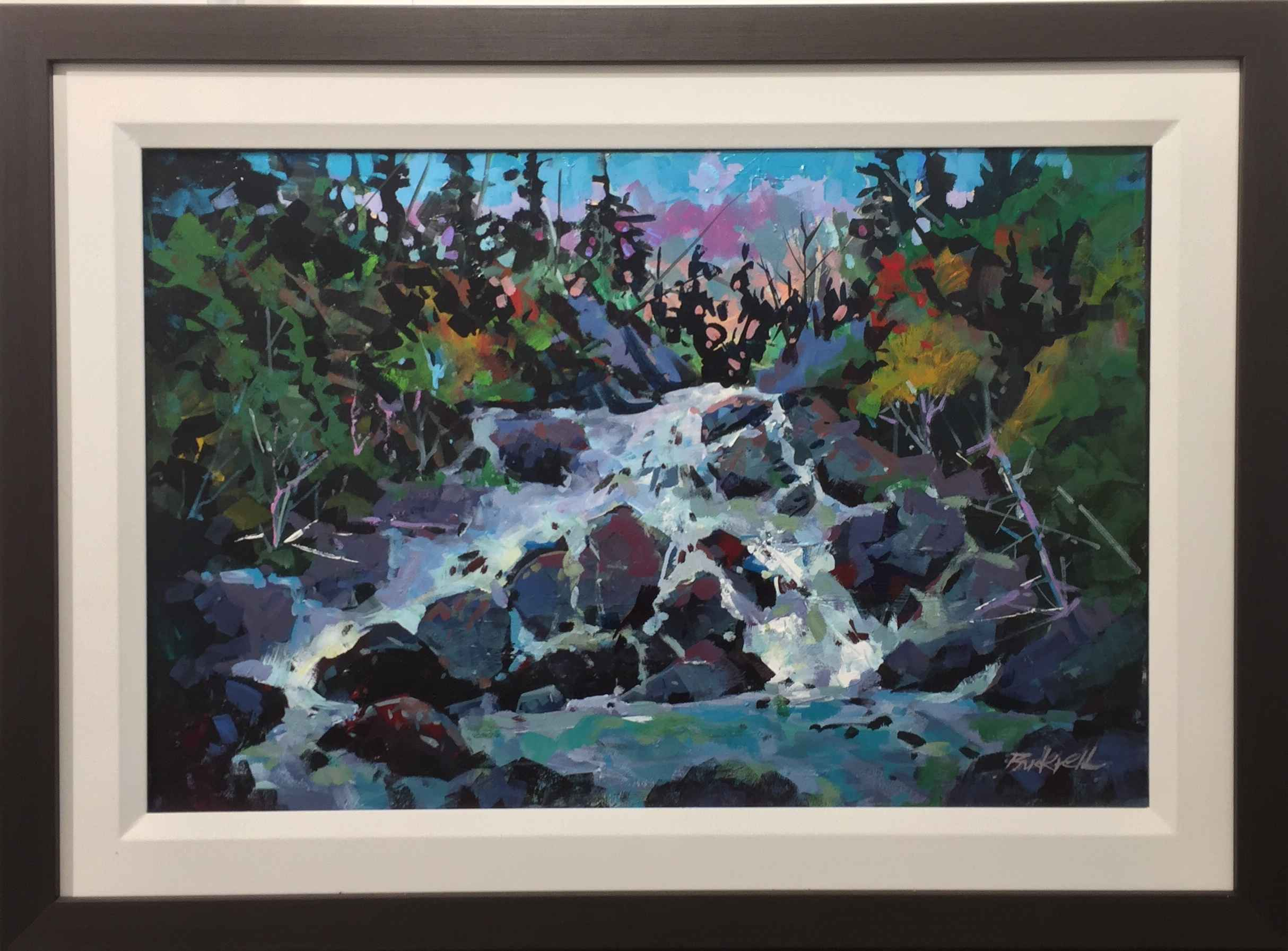 Algonquin Run-Off by  Brian Buckrell - Masterpiece Online