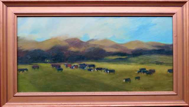 Cattle on the Hills by  Kathleen Peterson - Masterpiece Online
