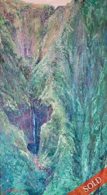 Top of Honokane Valley by  Betty Hay Freeland - Masterpiece Online
