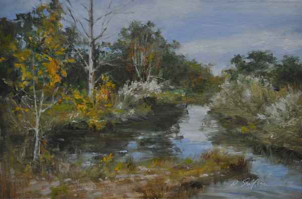 Autumn on the Creek by  Hodges Soileau - Masterpiece Online