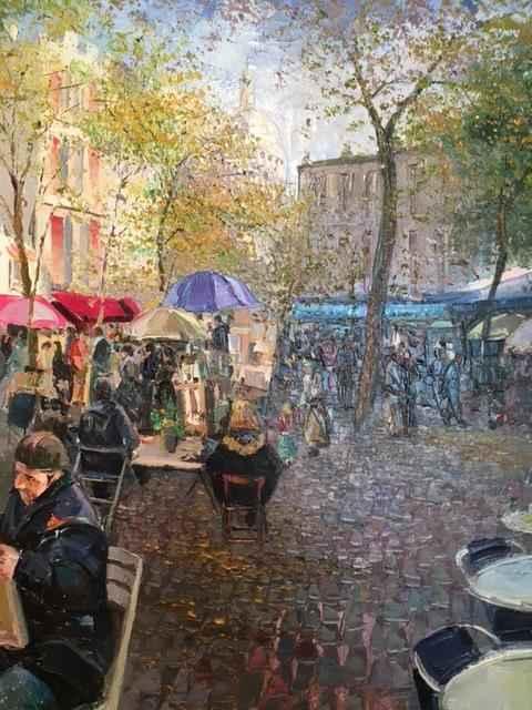 Montmartre by  Evaristo Alguacil - Masterpiece Online