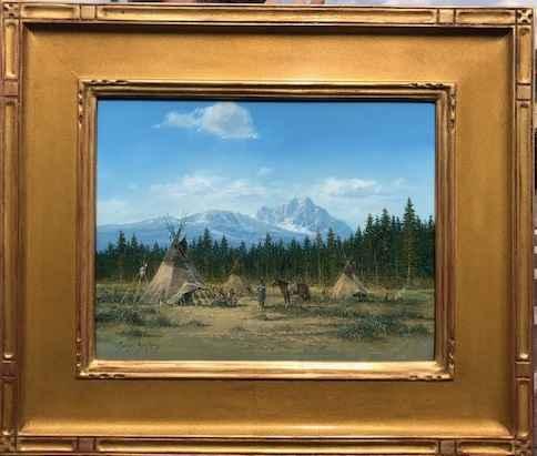Mountain Encampment by  Gene Speck - Masterpiece Online