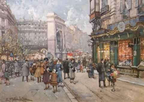 Porte Sur les Grands ... by  E. Galien Laloue  - Masterpiece Online